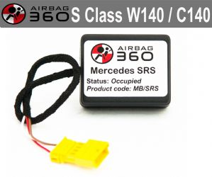 Mercedes S  Class w140 1995-1999  Front  Passenger Seat mat Occupancy Sensor, occupied recognition sensor  emulator / bypass